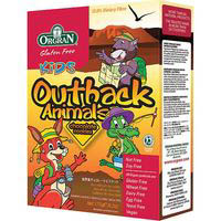 Orgran outback animal choco de 175g. en caja