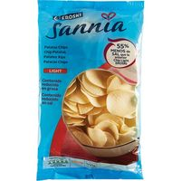 Eroski patata chip light       sannia de 150g.