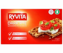 Ryvita crackers integrales de 250g.