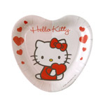 Bbs platos 18 cm hello kitty 8u en carton