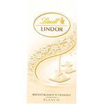 Lindt lindor chocolate blanco tableta de 100g.