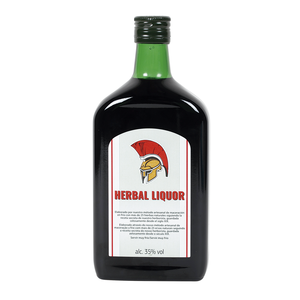 Licor de hierbas de 70cl. en botella