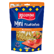 Recondo mini picatostes natural de 80g.