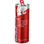 Red Bull the red edition bebida energetica sabor frutos rojos de 25cl. en lata