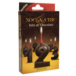 Xoc & chic vela chocolate nº 2