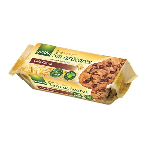 Diet Nature galletas chips chocolate sin azucar diet 8 16€ kg de 125g.