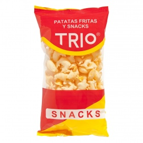 Snacks trio de 140g.