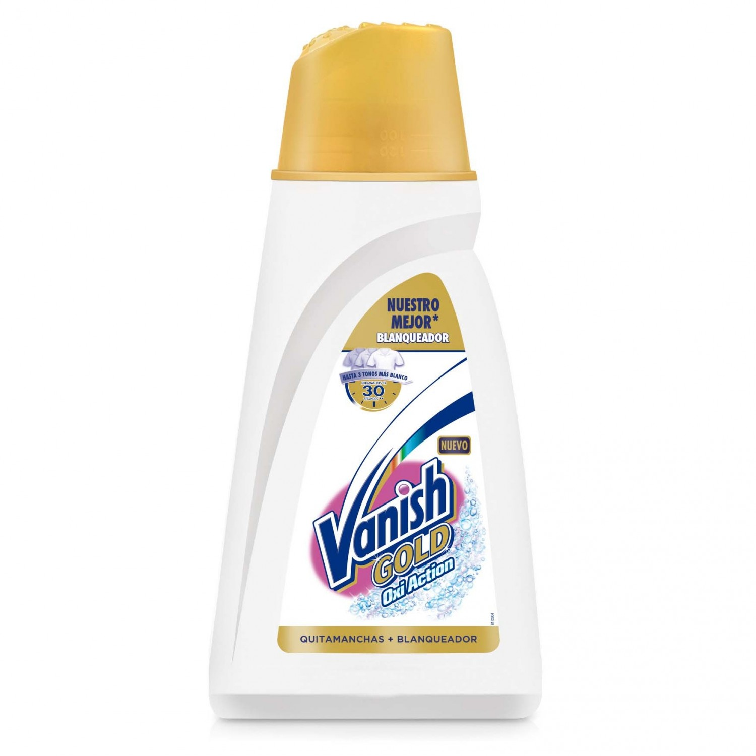Vanish quitamanchas blanqueador gel gold oxiaction de 94cl.