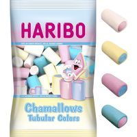 Haribo chamallows tubular colors de 250g. en bolsa