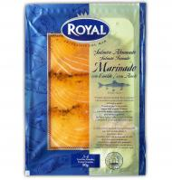 Royal salmon ahum marinado de 80g.