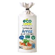 Ecocesta tortias arroz de 100g.