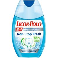 Licor Del Polo dentifrico 2n1 non stop fresh de 75ml. en bote