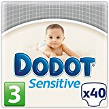 Dodot Sensitive pañal talla 3 sensitive 40 en paquete