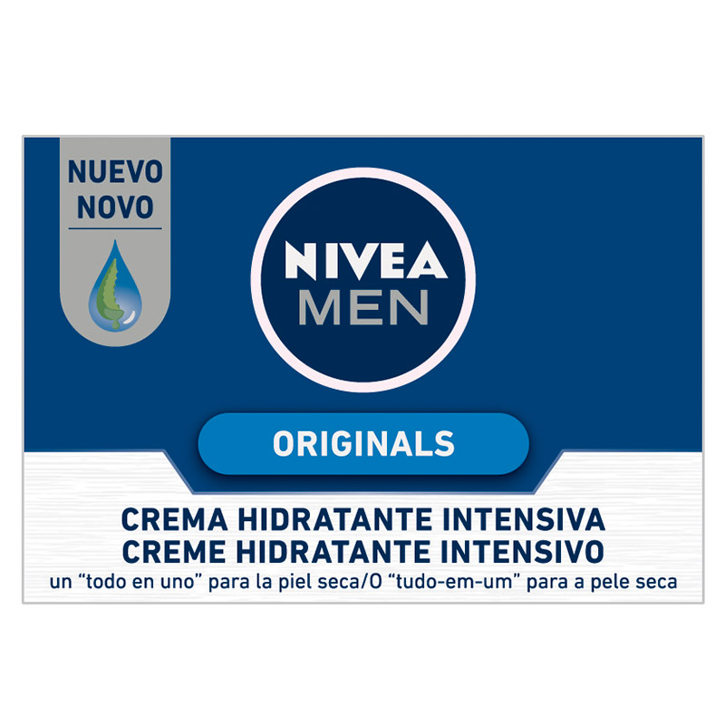 Nivea Men hombre originals crema hidratante intensiva de 50ml. en bote