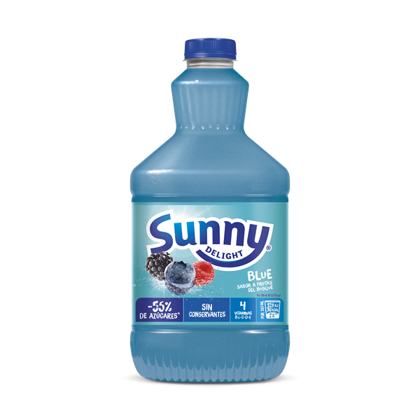 Sunny Delight refresco blue de 1,3l.