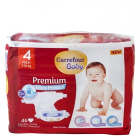 Carrefour Baby pañal premium t 4 46