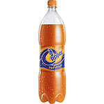 Clipper refresco naranja de 1,5l. en botella