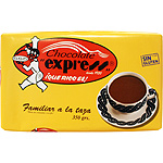 Express familiar chocolate a la taza tableta de 350g.