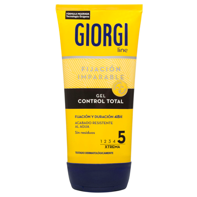 Giorgi gel fijador perfect fix extrafuerte de 15cl.