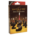 Xoc & chic vela chocolate nº 3