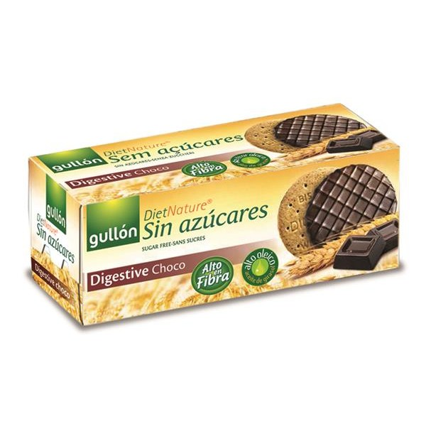 Diet Nature galleta sin azucar diet nature choco de 270g.