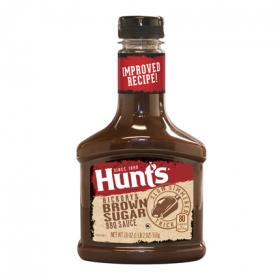 Hunts salsa barbacoa hickory&brown sugar hunt`s de 510g.