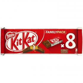 Kit Kat chocolatina nestle de 186g.