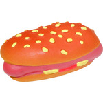 Modelo lanco juguete goma perro hot dog 40 mm