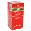 Twinings twinnings te english breakfast estuche 25 en bolsa