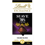 Excellence lindt suave chocolate negro 70% cacao tableta de 100g.