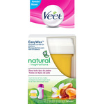 Veet recambio cera utilizar con easy wax roll on electrico natural inspirations todo tipo pieles en caja