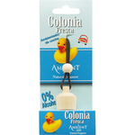 Basic by ambient air ambientador de coche colonia fresca fragancia natural sin alcohol de 6ml. en bote