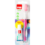 Phb plus cepillo dental suave regalo pasta dental de 15ml.