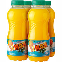 Simon Life refresco florida de 33cl. por 4 unidades