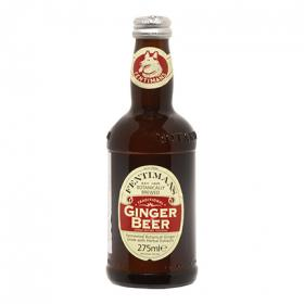 Fentimans cerveza jengibre sin alcohol de 27,5cl.