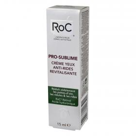 Roc contorno ojos revitalizante pro sublime de 15ml.