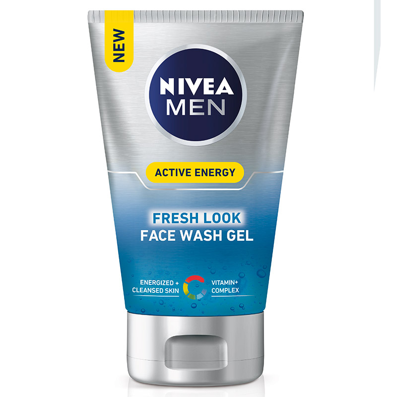 Nivea Men gel limpiador energizante revitalizante nivea for men hombre active energy de 10cl.