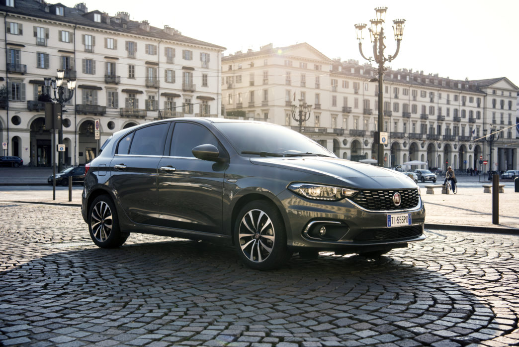 fiat tipo five door hatchback