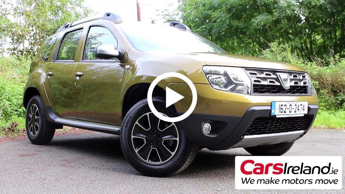 dacia duster suv video review irish car reviews. Black Bedroom Furniture Sets. Home Design Ideas