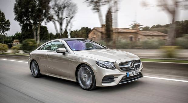 Mercedes E-Class Coupe 2017 Review