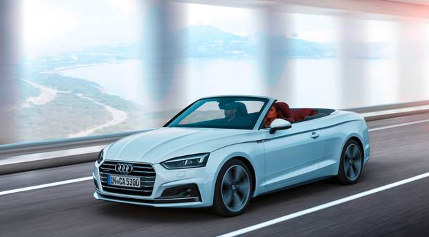 Audi A5 Cabriolet Living In The Now With Audi S New A5 Cabriolet
