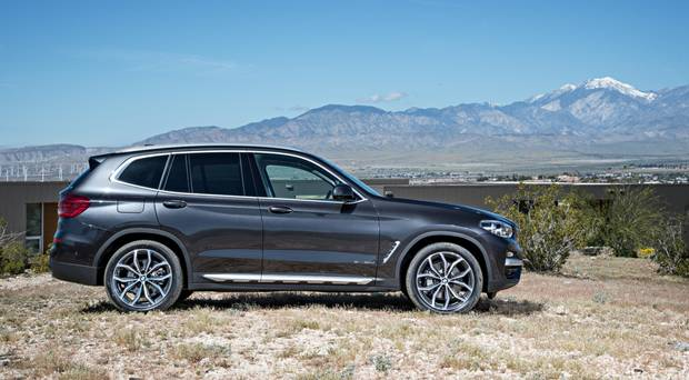 View Larger Image BMW X3 2018 Review