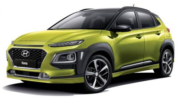 Pick Up Hyundai 2017 >> Hyundai Kona Crossover Review 2017 - CarsIreland.ie Reviews