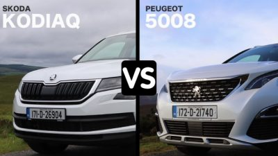 Skoda Kodiaq vs Peugeot 5008
