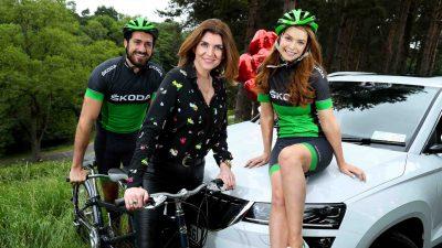 ŠKODA Ireland speed dating cycling event