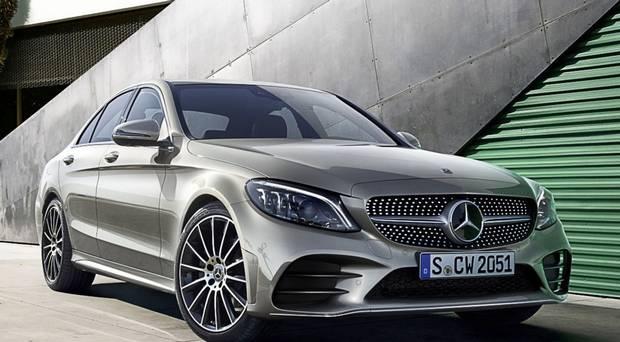revised Mercedes C-Class