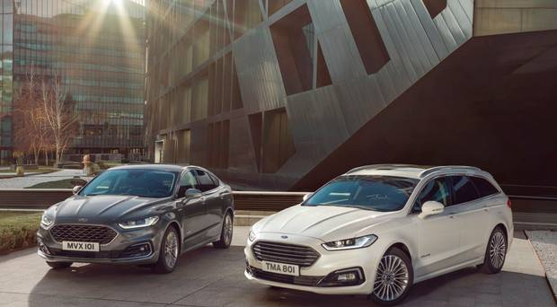 Revised Ford Mondeo