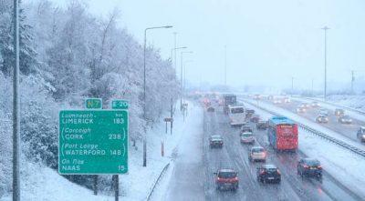 Driving in Slush and Snow