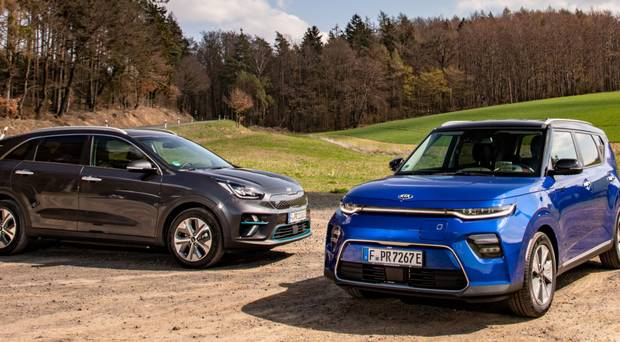 Huge Appetite For Evs Kia S New Eniro And Esoul