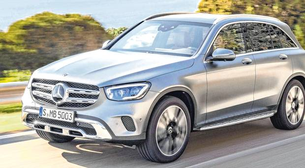 Revised Mercedes GLC